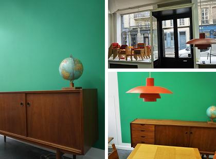 mise en teinte de la galerie 9 mercadier lille b ton cir peintures d coration. Black Bedroom Furniture Sets. Home Design Ideas